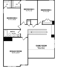 Beazer Home Floor Plans Adelaide Plan At Hillwood In Murfreesboro Tennessee By Beazer Homes