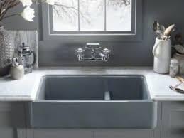 kohler cast iron farmhouse sink cast iron farmhouse sink kitchen sink with a soul