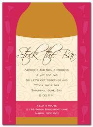 stock the bar invitations stock the bar party invitations by invitation consultants ic