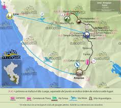 Machu Picchu Map Arequipa Cusco And Machu Picchu Tours Cuscoperu Com