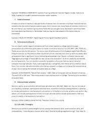 Interests Resume Examples by The Ultimate Resume Guide For Freshers