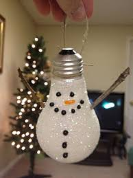 snowman ornament reduce reuse recycle i always kinda