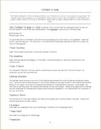 sow template 3 professional statement of work templates doc templateinn