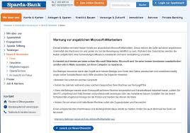 si e de microsoft falsche microsoft mitarbeiter sparda bank warnt anti spam info