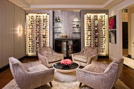 Wine Decorating Ideas For Kitchen by Modern Wine Storage For Home Design Denver Life Magazine