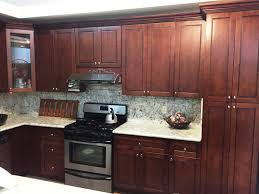 colored maple flat panel kitchen cabinets