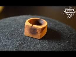 wooden finger rings images Cherry wood ring jpg