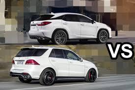 lexus suv vs bmw suv 2016 mercedes amg gle 63 s vs 2016 lexus rx 350 f sport design