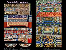 Forbidden City Floor Plan by Painted Decorations Painted Beams And
