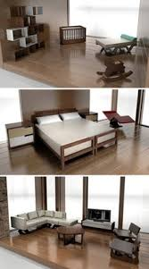 Modern Doll House Furniture by Http Modernminihouses Blogspot Com Mini Interior Pinterest