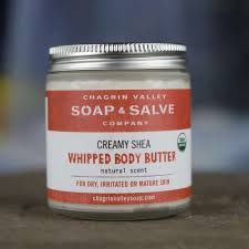 Natural Scent Whipped Shea Butter Natural Scent Chagrin Valley Soap And Salve