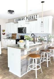 farmhouse kitchens with white cabinets 35 best farmhouse kitchen cabinet ideas and designs for 2021