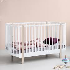 Bunk Cot Bed White Scandavian Bunk Bed By Oliver Furniture