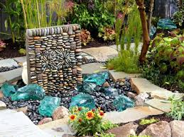 patio ideas water features for patios stone water features for