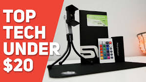 technology gifts top tech under 20 holiday tech gifts youtube