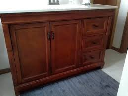 home depot vanity cabinet only cabinet naples foremost in w bath vanity cabinet only in warm
