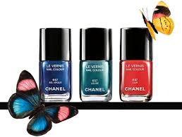 must have nails u2013 chanel summer 2013 l u0027ete papillon nail polishes