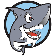 great white shark cartoon clipart free clipart