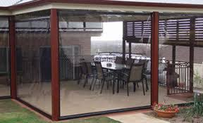 Plastic Cafe Curtains Shadetec Outdoor Blinds Adelaide Blinds And Awnings