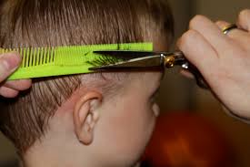 cutting boy hair with scissors how to cut boys hair shwin shwin