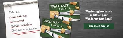 how much are gift cards buy your woodcraft gift card here