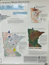 Minnesota Topographic Map Minnesota Biomes Map Afputra Com