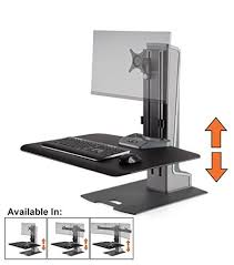 Electric Stand Up Desk Best Standing Desk Converters Of 2017 Start Standing