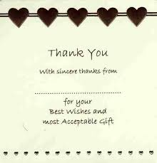 thank you cards wedding wedding thank you cards in packs of 10 party wizard