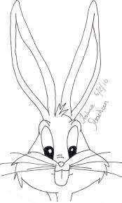 drawn bugs bugs bunny cartoon pencil color drawn bugs