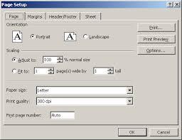defining page setup options tutorial at gcflearnfree