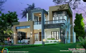 2805 sq ft modern contemporary home kerala home design and floor