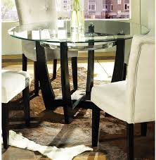 century furniture dining room metal base dining table with glass