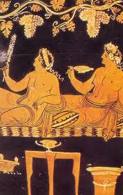 cuisine grecque antique cucina dell antica grecia crevettes glacées au miel à philoxenus