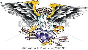 eagle tattoo clipart eagle tattoo stock illustration search clipart drawings and