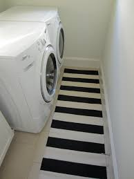 Grey Striped Rug Small Laundry Room With Black And White Striped Runner Rug Plus
