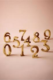 gold wedding table numbers gold teak wood table numbers wood gold in sale bhldn