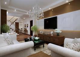 Home Hall Furniture Design Classy Living Hall Interior With Chandelier 3d Model Max