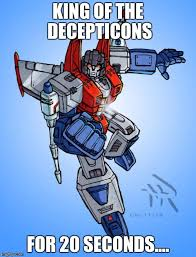 Transformers Meme - transformers starscream memes imgflip