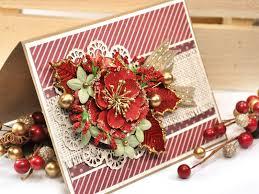 scrap escape christmas card featuring prima u0027s victorian christmas