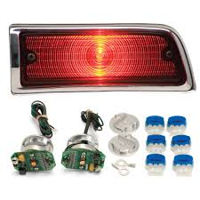 1964 Chevy Chevelle Led Tail Lights Dakota Digital Lat Nr160