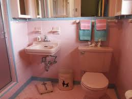 pink bathroom decorating ideas designs charming pink and black tile bathroom decorating ideas