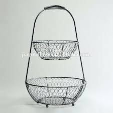 3 tier fruit basket two tier fruit basket 2 tier wire fruit basket iron wire fruit