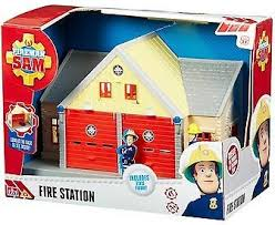 banba toymaster fireman sam adventure playset figure fire