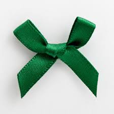 green satin ribbon 20 bottle green satin ribbon bows 3cm with self adhesive tab at