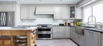 Stylish Kitchen Cabinets Rta Greige Maple Stylish Kitchen Cabinets
