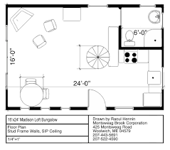 Bungalow With Loft Floor Plans Madison Bungalow In A Box