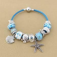 Paris Themed Charm Bracelet Sea Turtle Starfish Charm Bracelets U2013 Animal Planet Jewelry