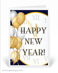 Happy New Year Business Card Happy New Year Harrison Greetings Business Greeting Cards