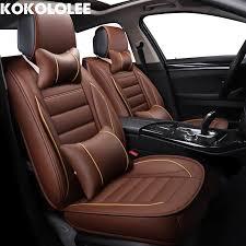 couvre siege cuir kokololee pu siège de voiture en cuir couvre pour bmw hyundai i30