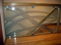 Glass Stairs Design Wooden Glass Staircase Project Glass Mirror Store